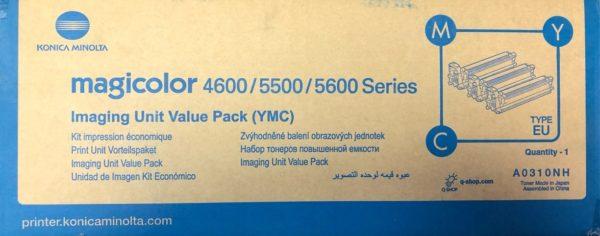 Набор A0310NH цветных тонеров повышенной емкости Konica-Minolta mc4650/4690/4695/5550/5570/5650/5670