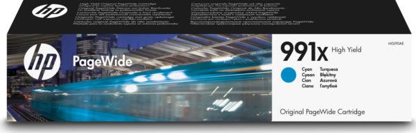 Картридж HP M0J90AE №991X голубой увеличенной для PageWide-Pro750/772/777