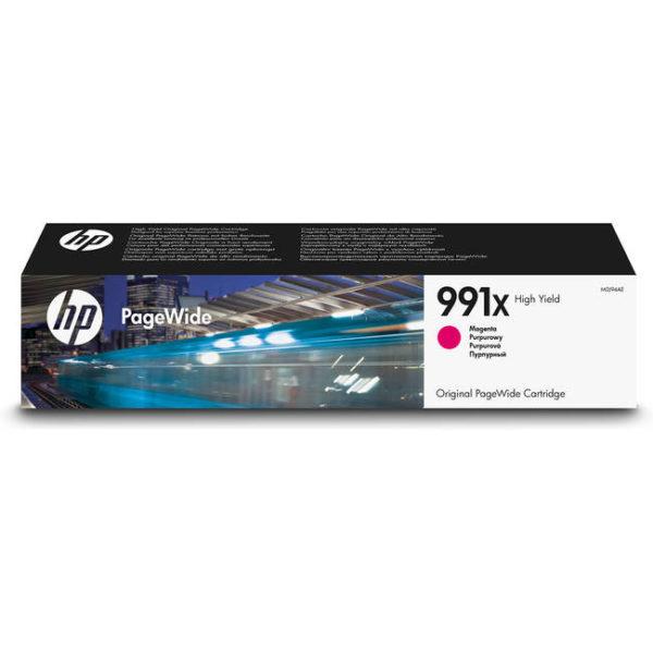 Картридж HP M0J94AE №991X малиновый увеличенной для PageWide-Pro750/772/777