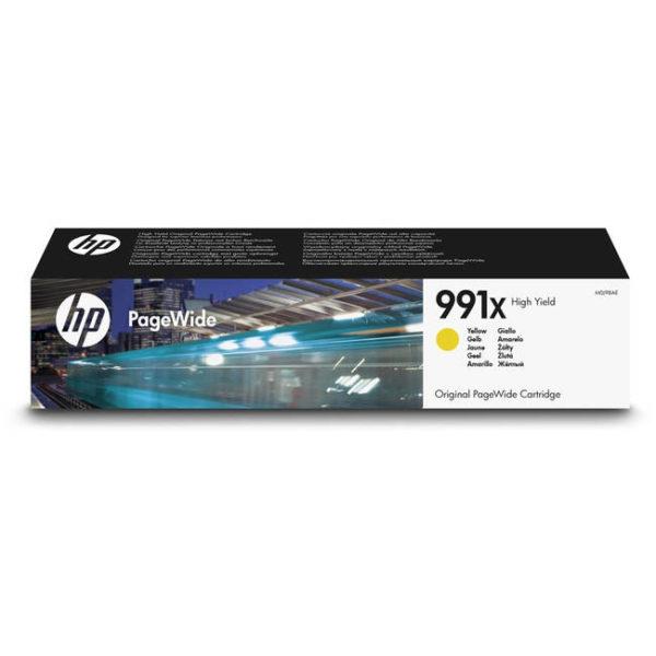 Картридж HP M0J98AE №991X желтый увеличенной для PageWide-Pro750/772/777