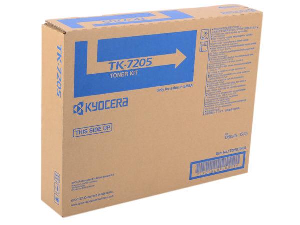 Тонер Kyocera TK-7205 черный для Taskalfa 3510i