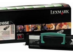 Тонер-картридж LEXMARK 24016SE черный для E230/232/330/332/340