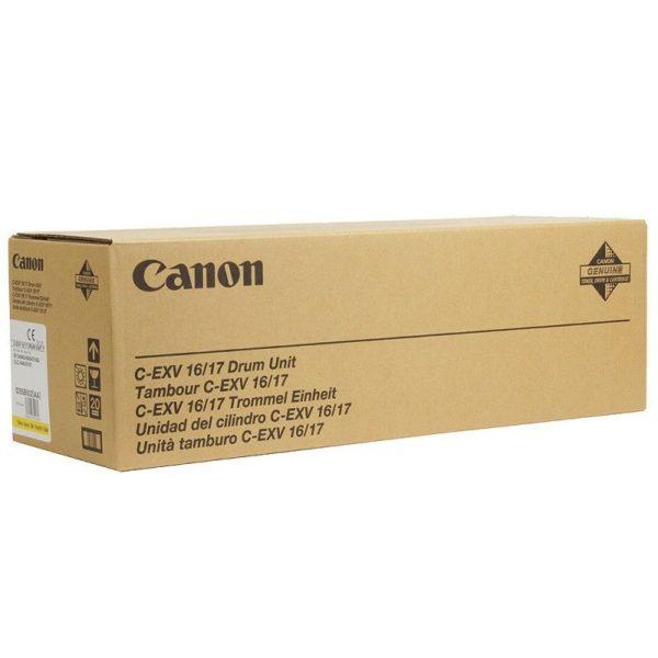 Драм-картридж CANON C-EXV17Y желтый для iRC4080i/4580i/5185i/CLC4040/4141/5151