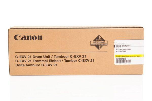 Драм-картридж CANON C-EXV21 желтый для IR-2880/3380