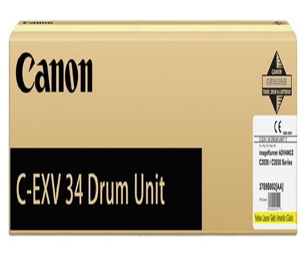 Драм-картридж CANON C-EXV34 желтый для IR ADV C2020/2030/2220L
