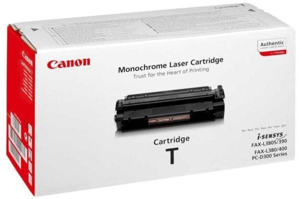 Картридж CANON Cartridge-T черный для PC-D320/340, Fax--L400