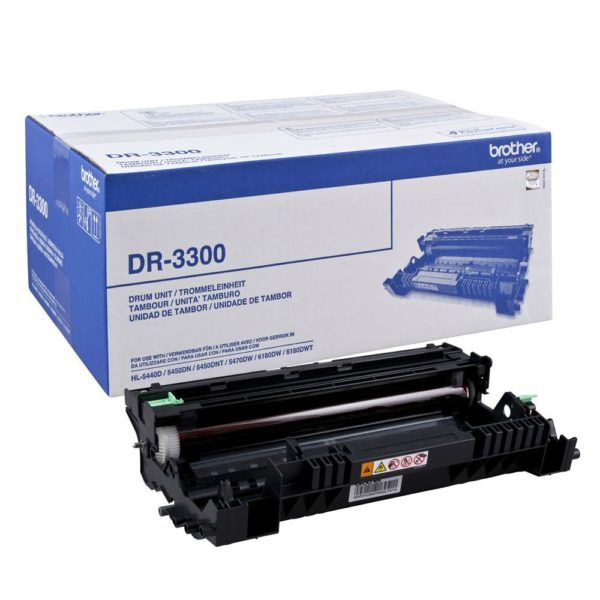 Драм-картридж BROTHER DR-3300 для HL-5440/5450/5470/6180/DCP-8110/8250/MFC8320/8520/8950