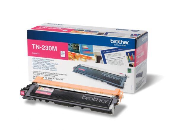 Тонер-картридж BROTHER TN-230M малиновый для HL3040/DCP9010CN/MFC9120CN 1400 стр