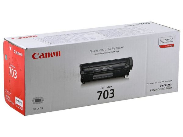 Картридж CANON Cartridge 703 черный для LBP 2900/3000