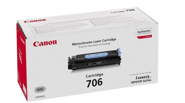 Картридж CANON Cartridge706 черный для LaserBase MF6530/40PL/50/60PL/80PL