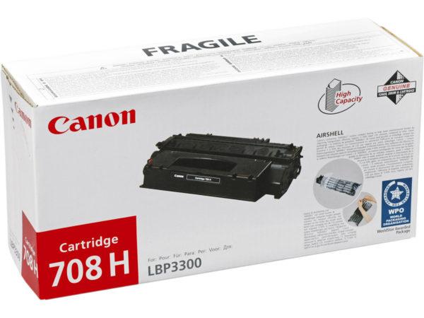 Картридж CANON Cartridge708H черный увеличенный для LBP 3300/3360