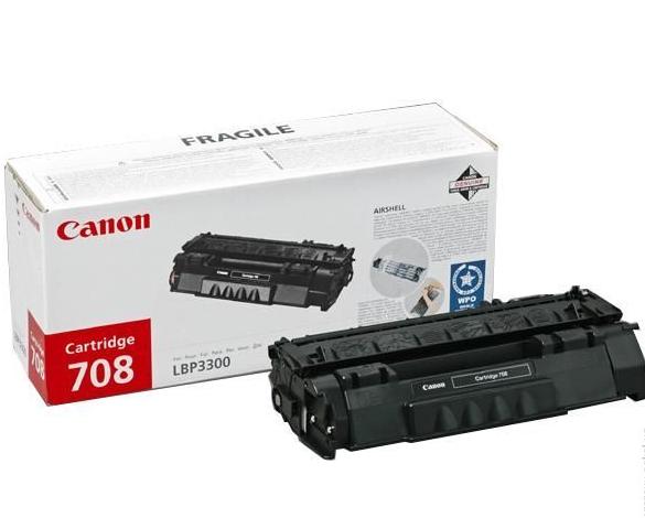 Картридж CANON Cartridge708L черный стандартный для LBP 3300/3360