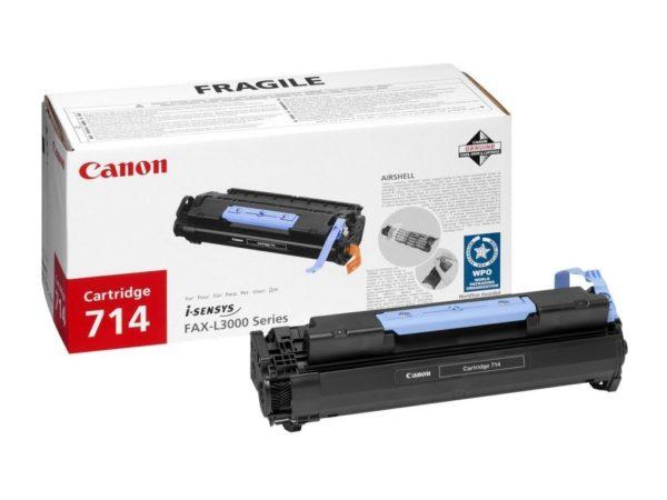 Картридж CANON Cartridge714 черный для FAX L3000/3000IP