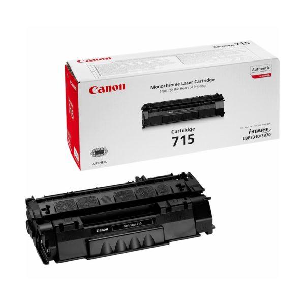Картридж CANON Cartridge715 черный стандартный для LBP 3310/3370