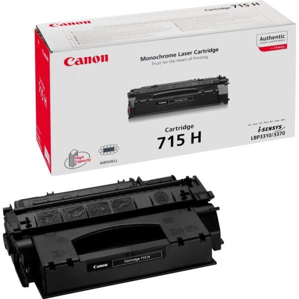 Картридж CANON Cartridge715Н черный увеличенный для LBP 3310/3370