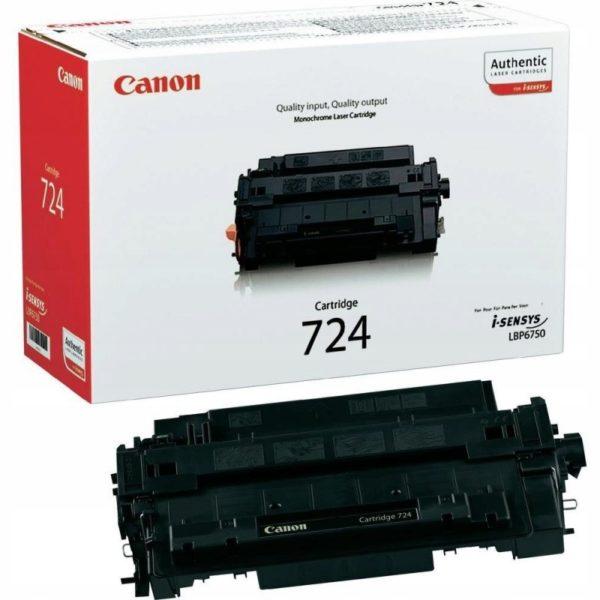 Картридж CANON Cartridge724 черный стандартный для LBP6750Dn