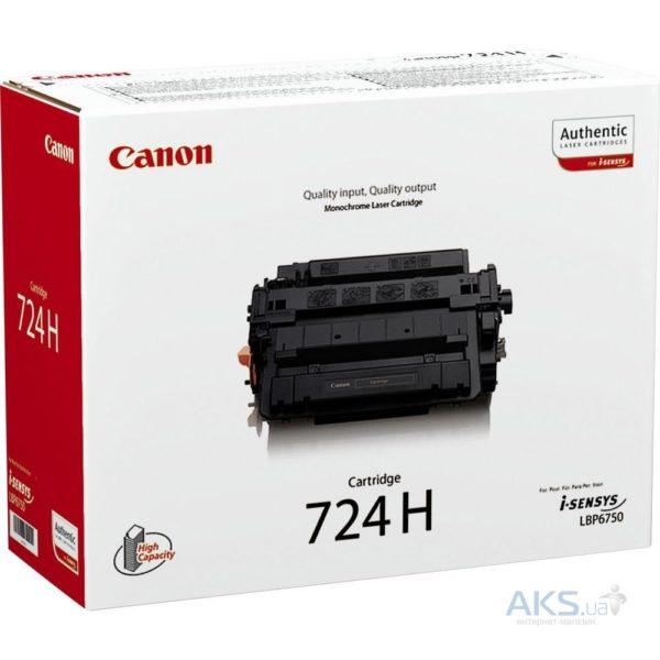 Картридж CANON Cartridge724Н черный увеличенный для LBP6750Dn