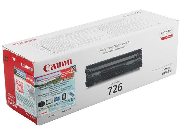 Картридж CANON Cartridge726 черный для LBP 6200d
