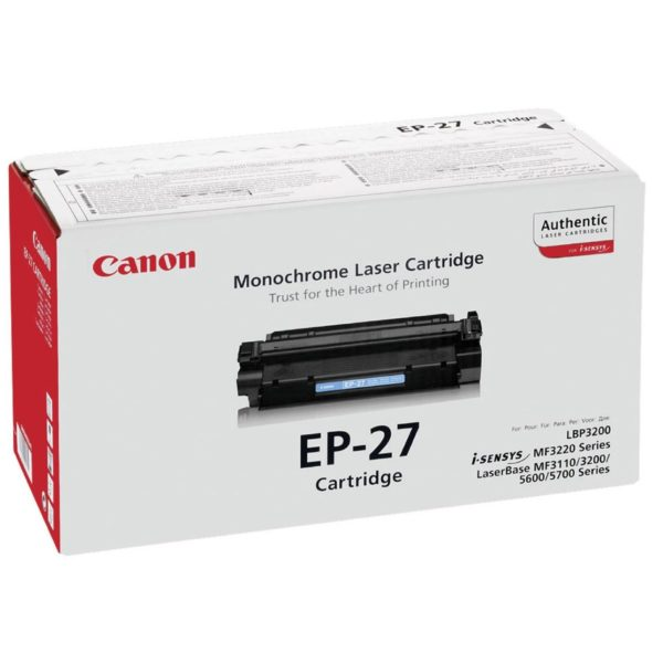 Картридж CANON EP-27 черный для LBP 3200