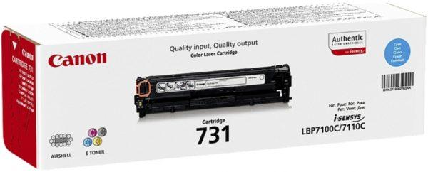Тонер-картридж CANON Cartridge731C синий для LBP 7100Cn/7110Cw