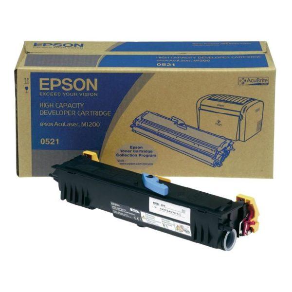 Картридж EPSON S050521 черный увеличенный для AcuLaser M1200