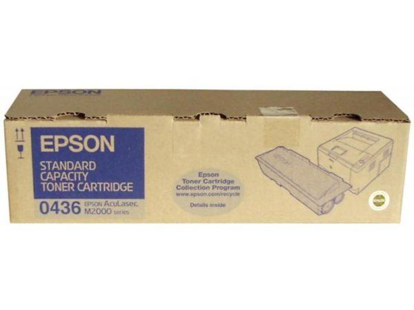 Картридж EPSON S050436 черный стандартный для AcuLaser M2000D