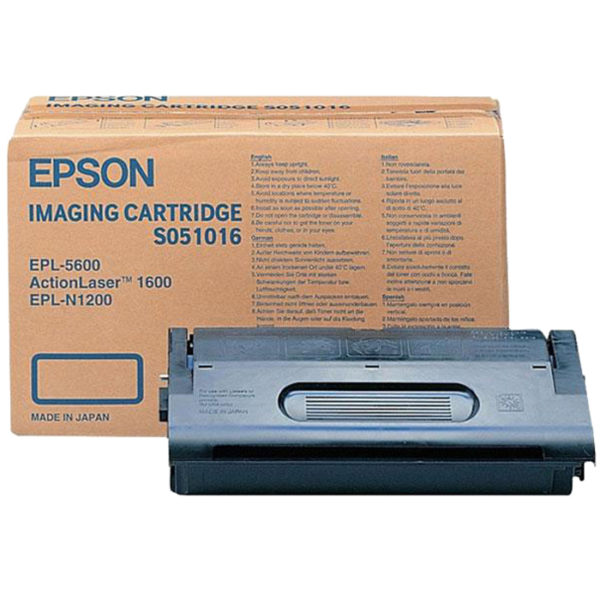 Картридж EPSON S051016 черный для EPL 5600/N1200