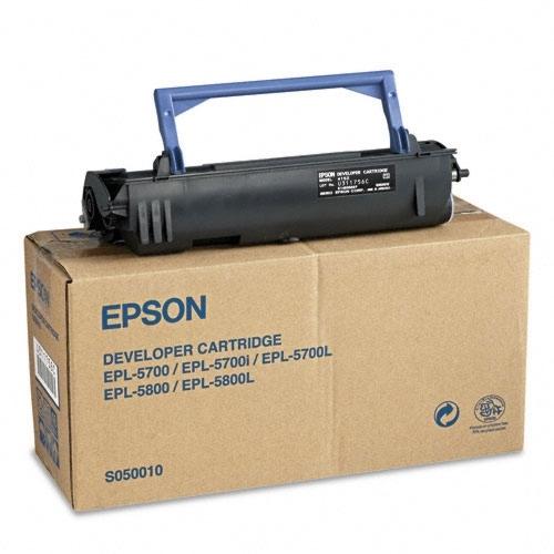 Картридж EPSON S050010 черный для EPL 5700/5800
