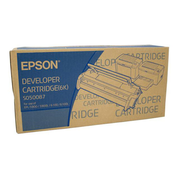 Картридж EPSON S050087 черный для EPL 5900 /6100 6000стр