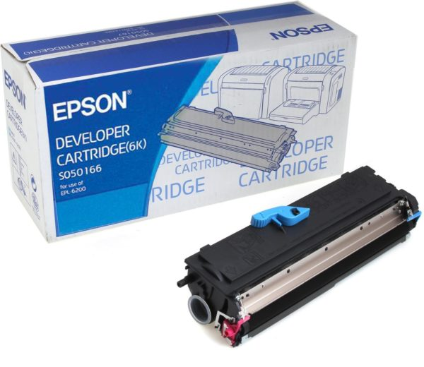 Картридж EPSON S050166 черный для EPL 6200
