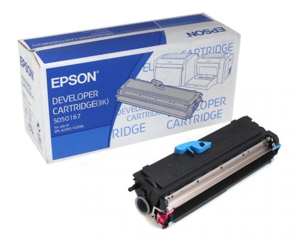 Картридж EPSON S050167 черный для EPL 6200/6200L