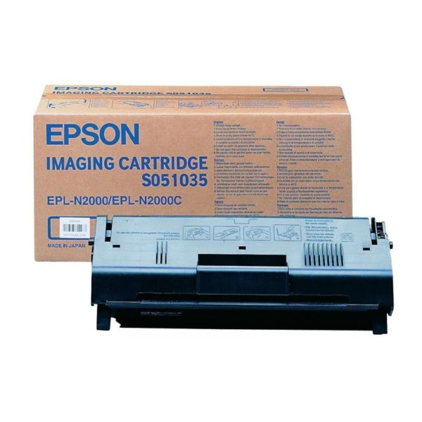 Картридж EPSON S051035 черный для EPL N2000
