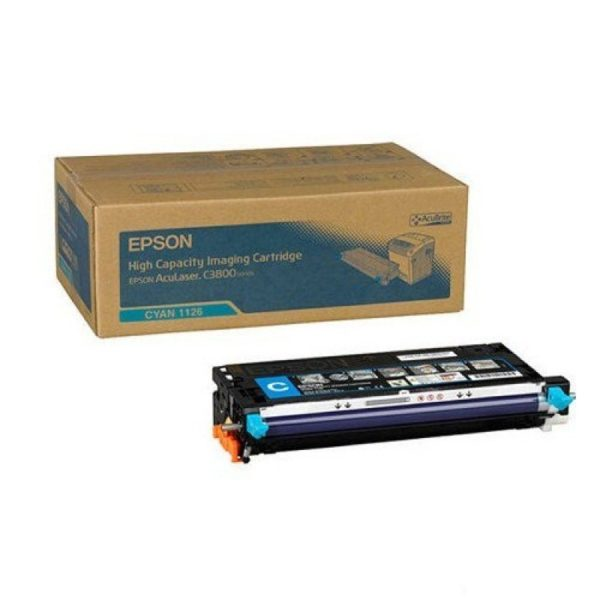 Принт-картридж EPSON S051126 синий для AcuLaser C3800