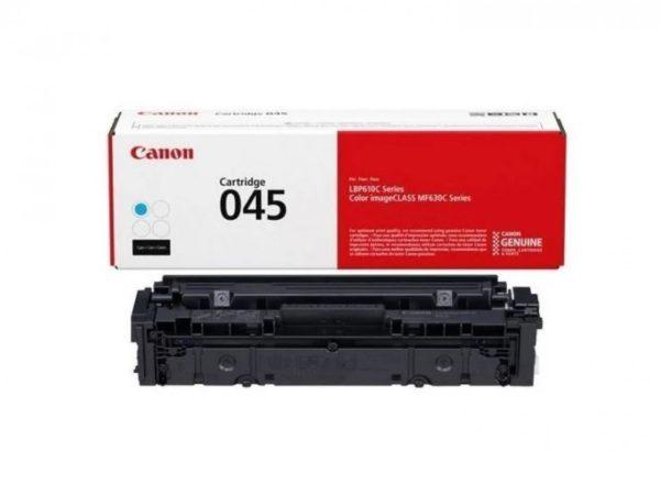 Картридж CANON 045 C голубой, для i-SENSYS LBP611Cn,LBP613Cdw,MF631Cn,MF633Cdw,MF635Cx