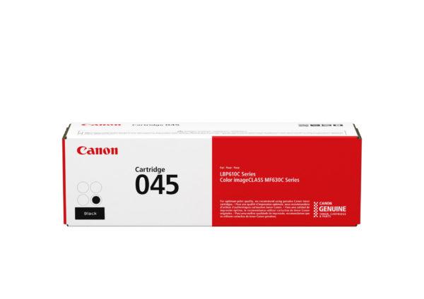 Картридж CANON 045 K черный для i-SENSYS LBP611Cn,LBP613Cdw,MF631Cn,MF633Cdw,MF635C