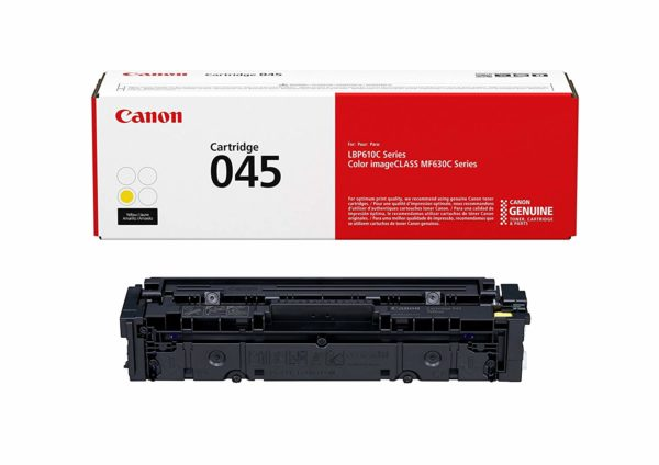 Картридж CANON 045 Y желтый для i-SENSYS LBP611Cn,LBP613Cdw,MF631Cn,MF633Cdw,MF635Cx