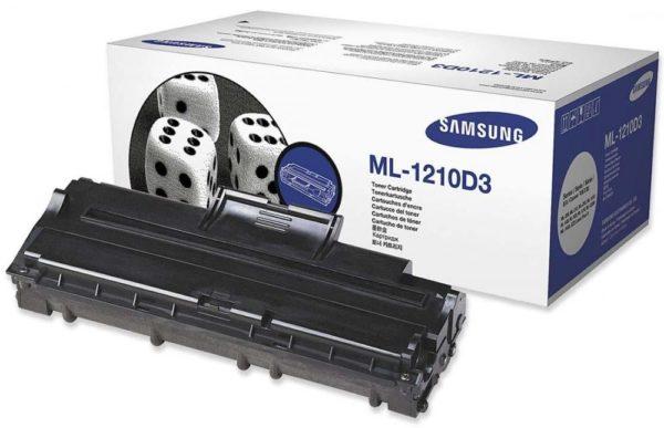 Картридж SAMSUNG ML-1210D3 черный для ML-1010/20/1210
