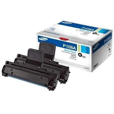 Картридж SAMSUNG MLT-D108A черный 2шт./упак. для ML-1640/1641/2240/2241