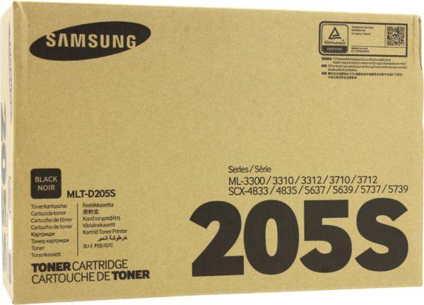 Картридж SAMSUNG MLT-D205S черный стандартный для ML-3310/3710/SCX-4833/5637