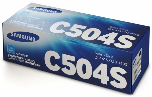 Картридж SAMSUNG CLT-C504S синий для CLP-415N/415NW/CLX-4195FN