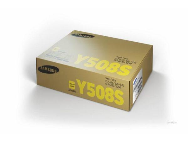 Картридж SAMSUNG CLT-Y508S желтый стандартный для CLP-620/670/CLX-6220/6250