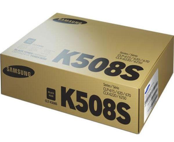 Картридж SAMSUNG CLT-K508S черный стандартный для CLP-620/670/CLX-6220/6250