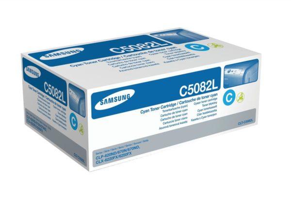 Картридж SAMSUNG CLT-C508L синий увеличенный для CLP-620/670/CLX-6220/6250
