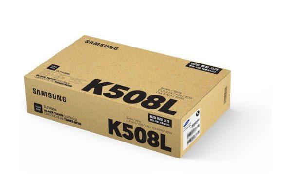 Картридж SAMSUNG CLT-K508L черный увеличенный для CLP-620/670/CLX-6220/6250