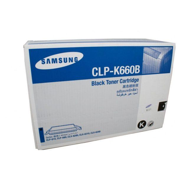 Картридж SAMSUNG CLP-K660B черный увеличенный для CLP-610ND/660N/660ND