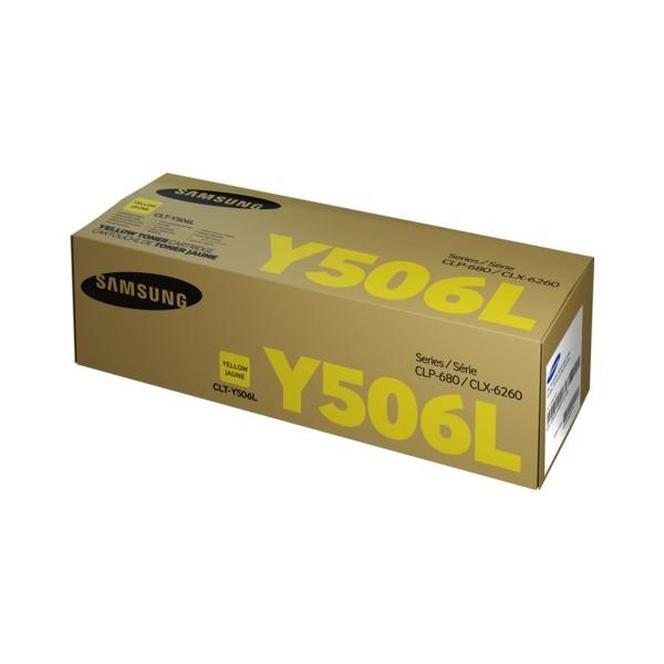 Картридж SAMSUNG CLT-Y506L желтый увеличенный для CLP-680/CLX-6260