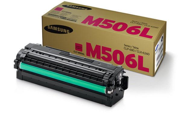 Картридж SAMSUNG CLT-M506L малиновый увеличенный для CLP-680/CLX-6260
