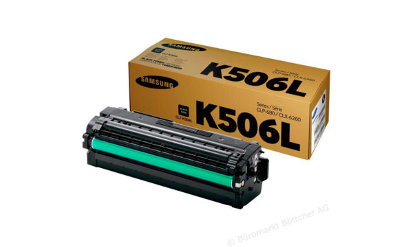 Картридж SAMSUNG CLT-K506L черный увеличенный для CLP-680/CLX-6260