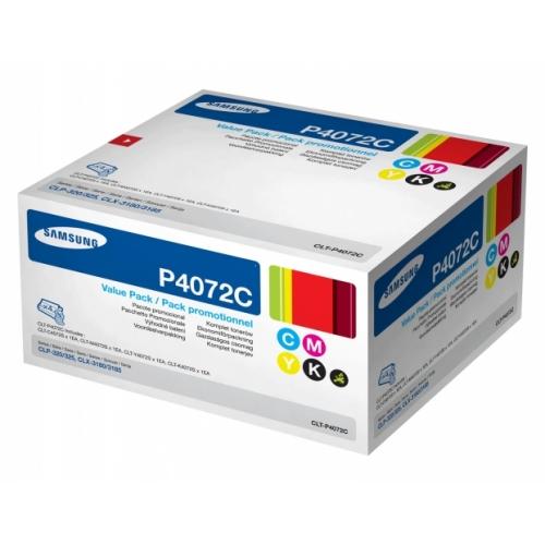 Картридж SAMSUNG CLT-P407C мульти-упаковка для CLP-320/325/CLX-3185