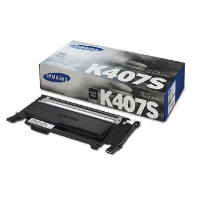 Картридж SAMSUNG CLT-K407S черный для CLP-320/325/CLX-3185